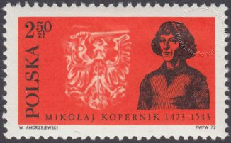500 rocznica urodzin Mikołaja Kopernika - 2045