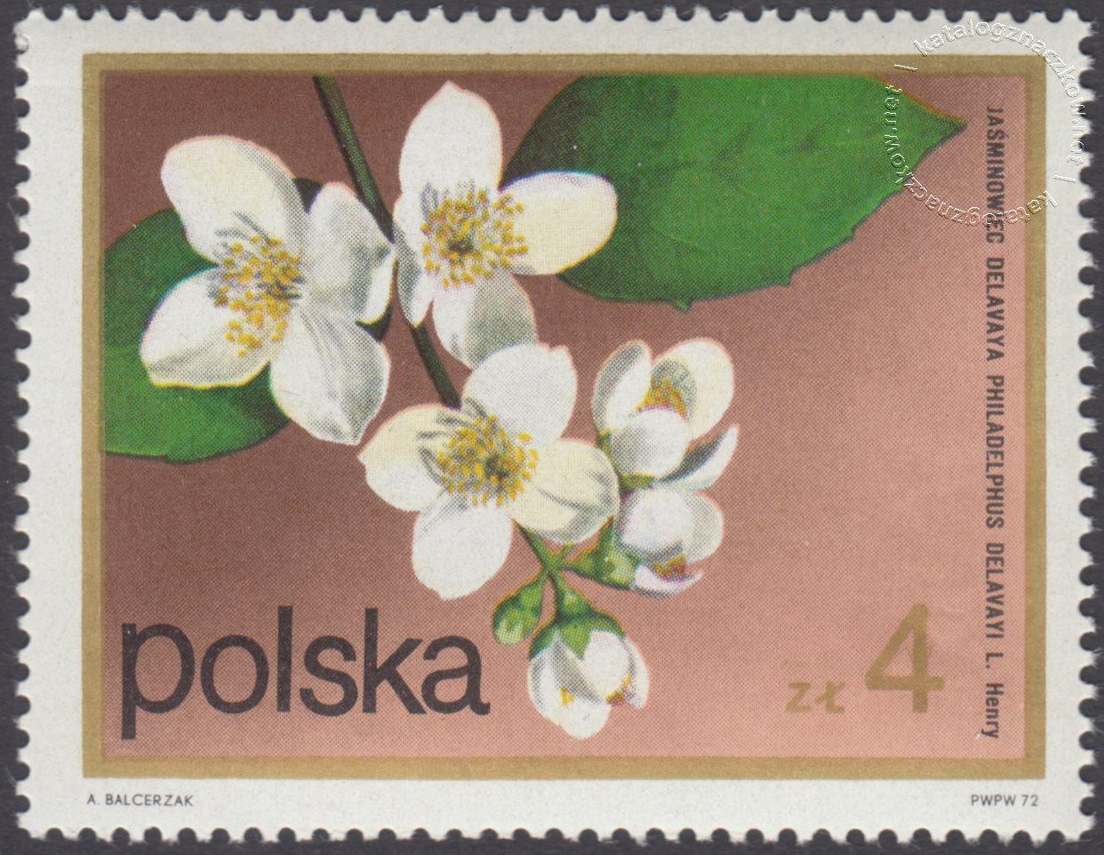 Kwiaty krzewów znaczek nr 2073