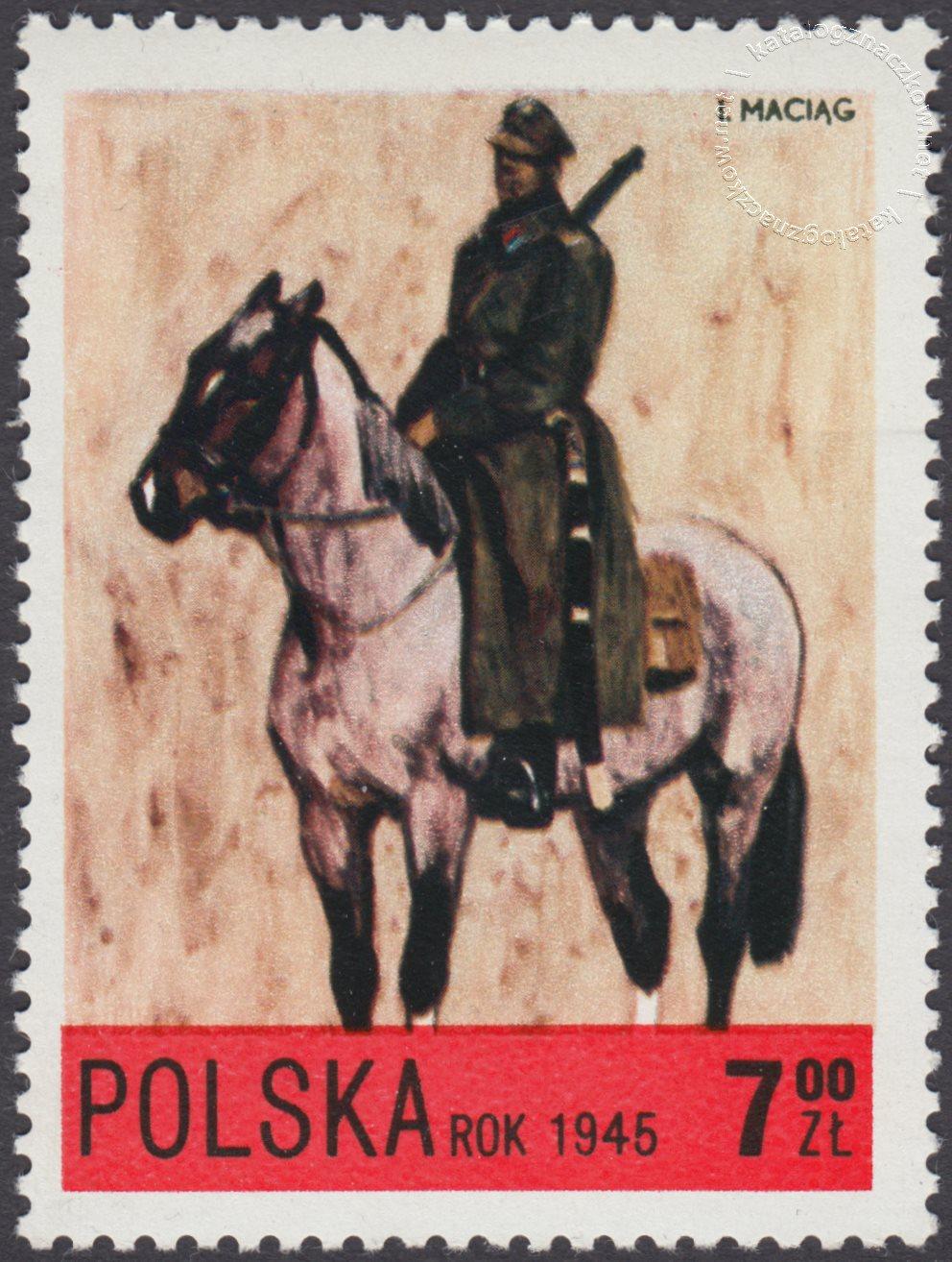 Jazda polska X-XXw. znaczek nr 2082