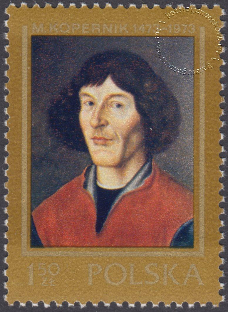 500 rocznica urodzin Mikołaja Kopernika znaczek nr 2086