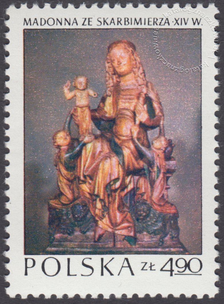 Arcydzieła sztuki polskiej znaczek nr 2096
