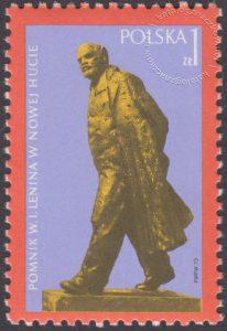 Odsłonięcie pomnika W.I.Lenina w Nowej Hucie - 2098