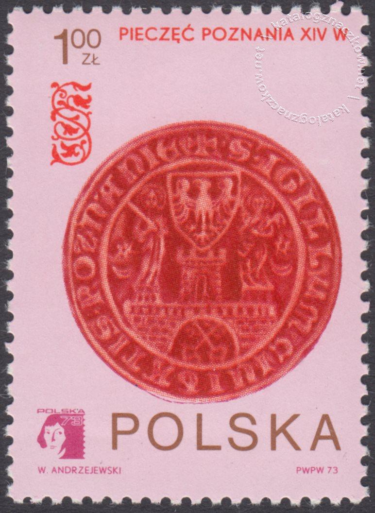 Światowa wystawa filatelistyczna Polska 73 znaczek nr 2111