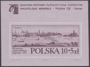 Światowa wystawa filatelistyczna Polska 73 - Blok 46B