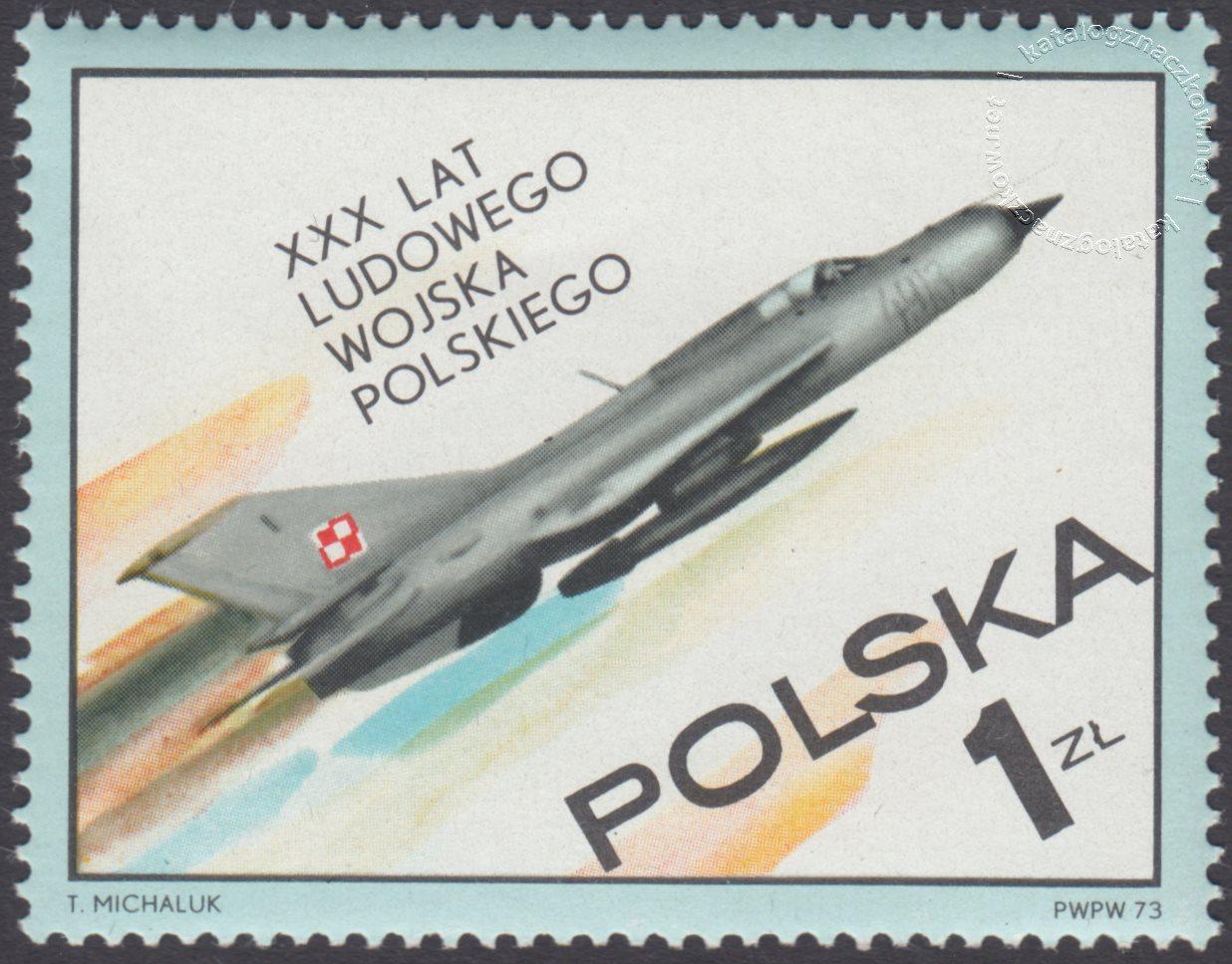 30 lecie Ludowego Wojska Polskiego znaczek nr 2127