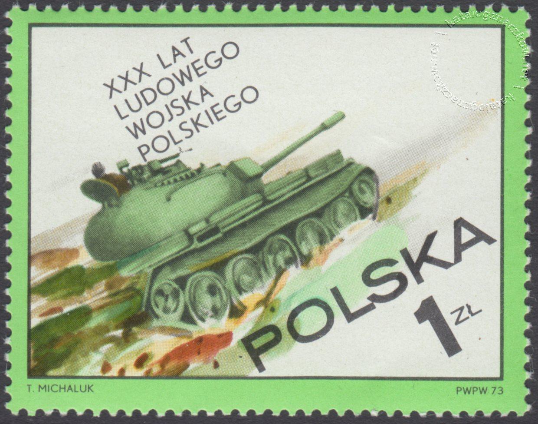 30 lecie Ludowego Wojska Polskiego znaczek nr 2128