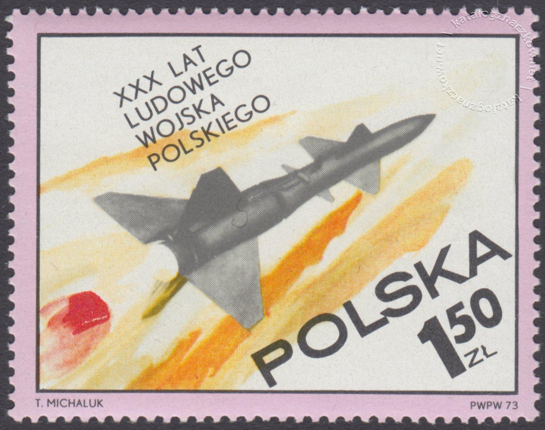 30 lecie Ludowego Wojska Polskiego znaczek nr 2129