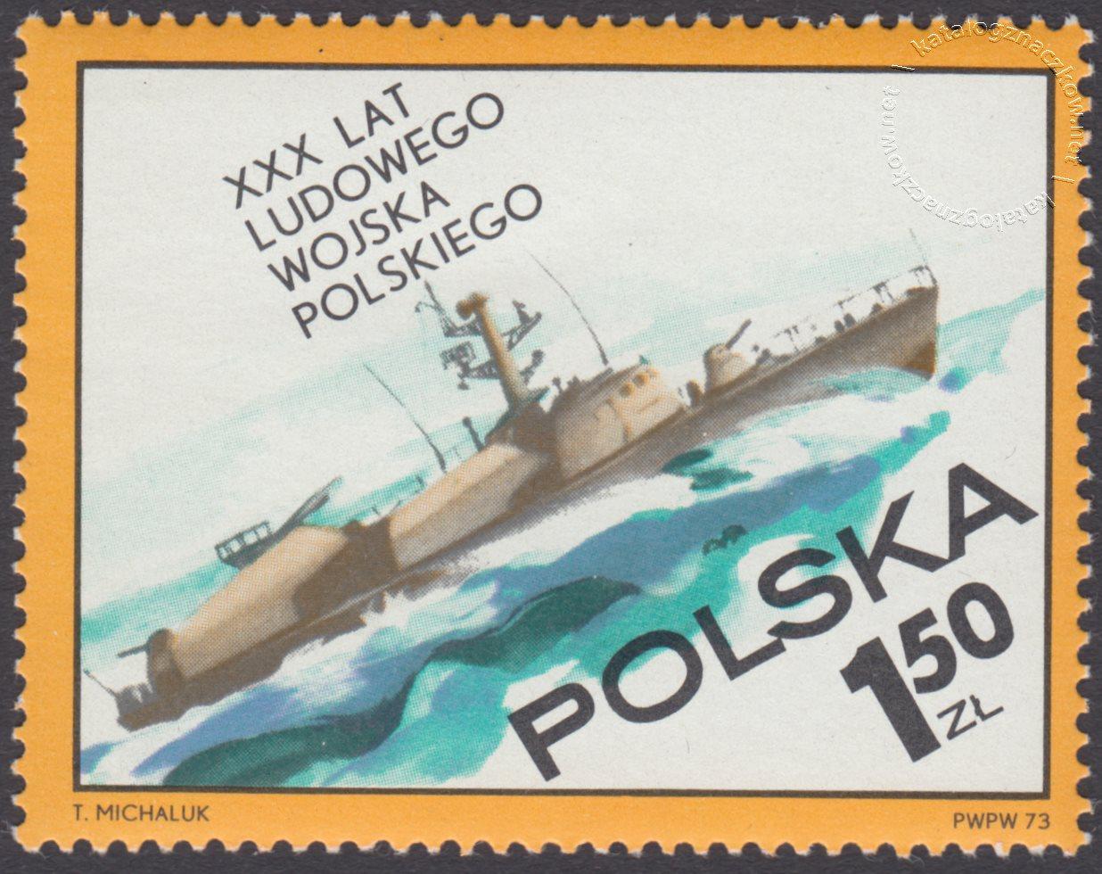 30 lecie Ludowego Wojska Polskiego znaczek nr 2130