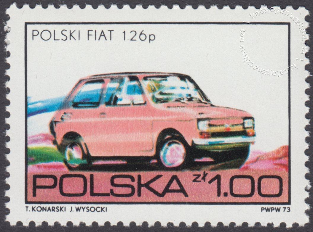 Polska motoryzacja znaczek nr 2144