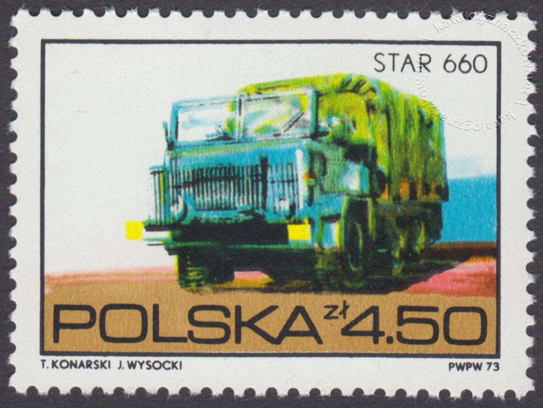 Polska motoryzacja znaczek nr 2147