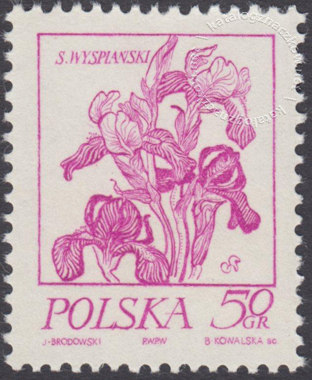 Rośliny w twórczości Stanisława Wyspiańskiego znaczek nr 2148
