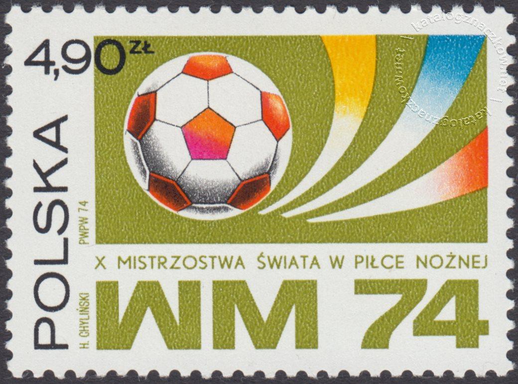 X Mistrzostwa Świata w piłce nożnej znaczek nr 2169