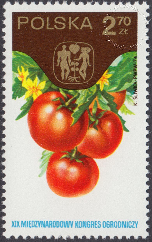 XIX Międzynarodowy Kongres Ogrodniczy w Warszawie znaczek nr 2186
