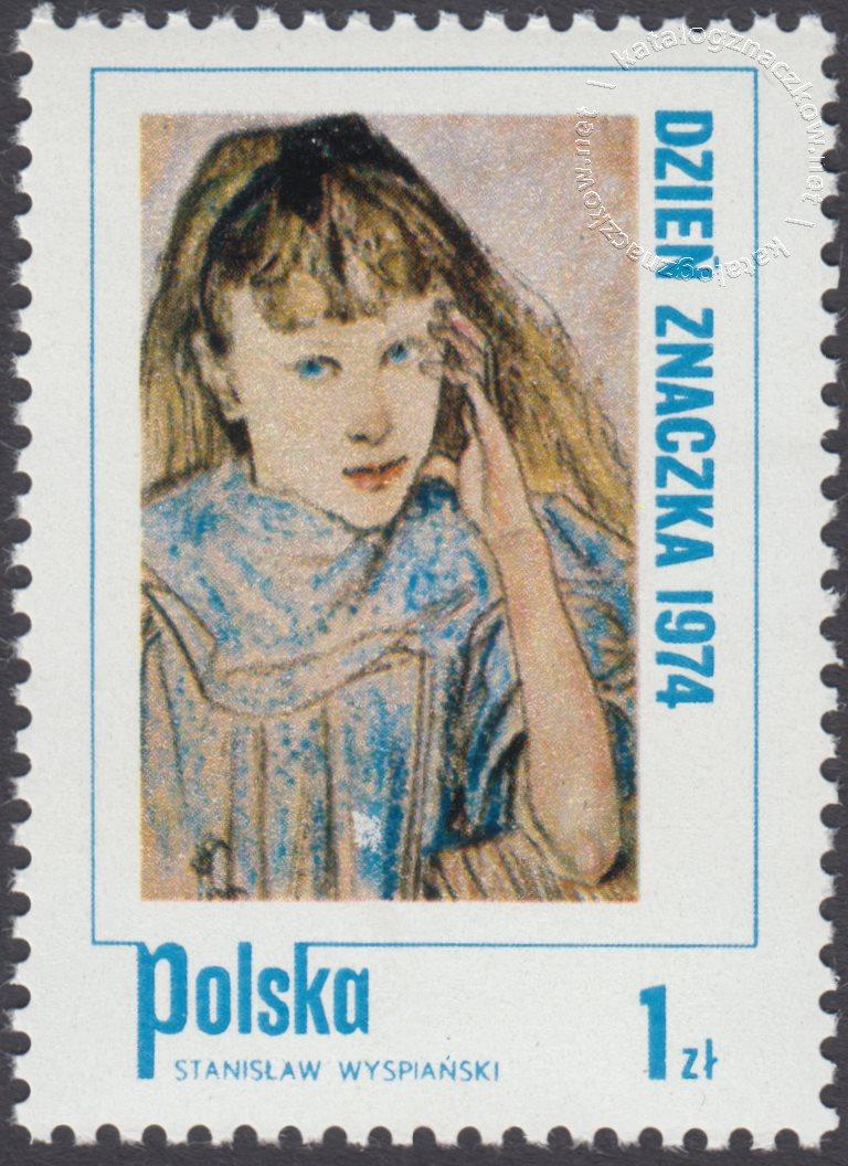 Dzień Znaczka – Dziecko w malarstwie znaczek nr 2193