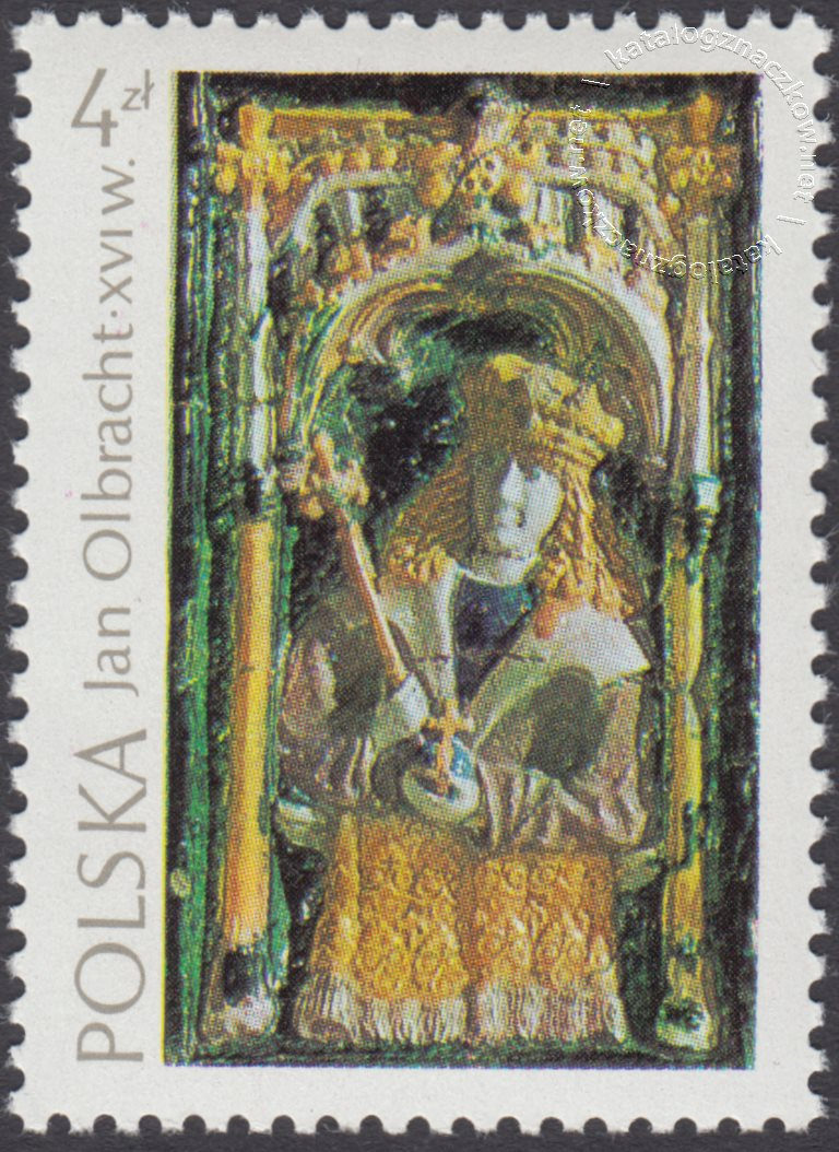Arcydzieła sztuki polskiej znaczek nr 2202