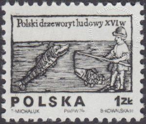 Polski drzeworyt ludowy z XVIw. - 2203