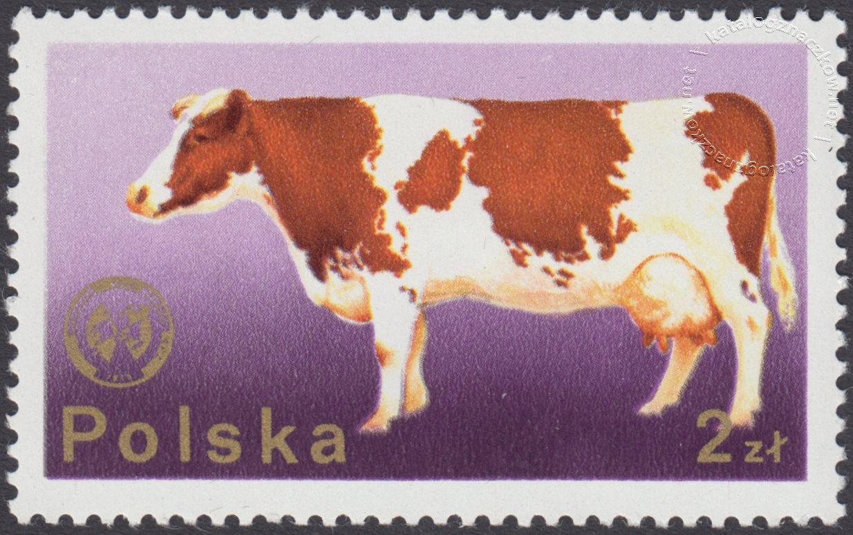 26 Zjazd Europejskiej Federacji Zootechnicznej w Warszawie znaczek nr 2234