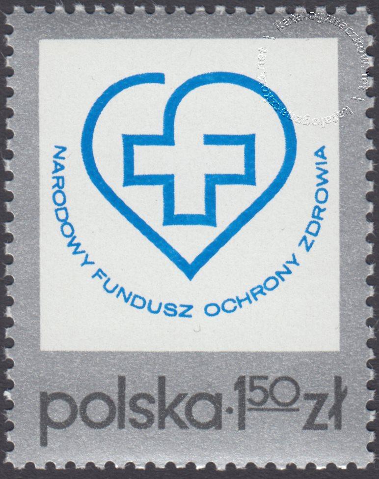 Narodowy Fundusz Ochrony Zdrowia znaczek nr 2242