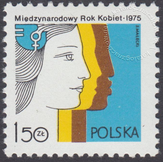 Międzynarodowy Rok Kobiet znaczek nr 2250