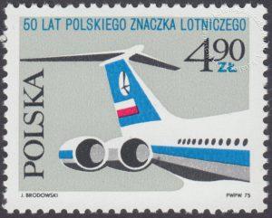 50 lecie polskiego znaczka lotniczego - 2252