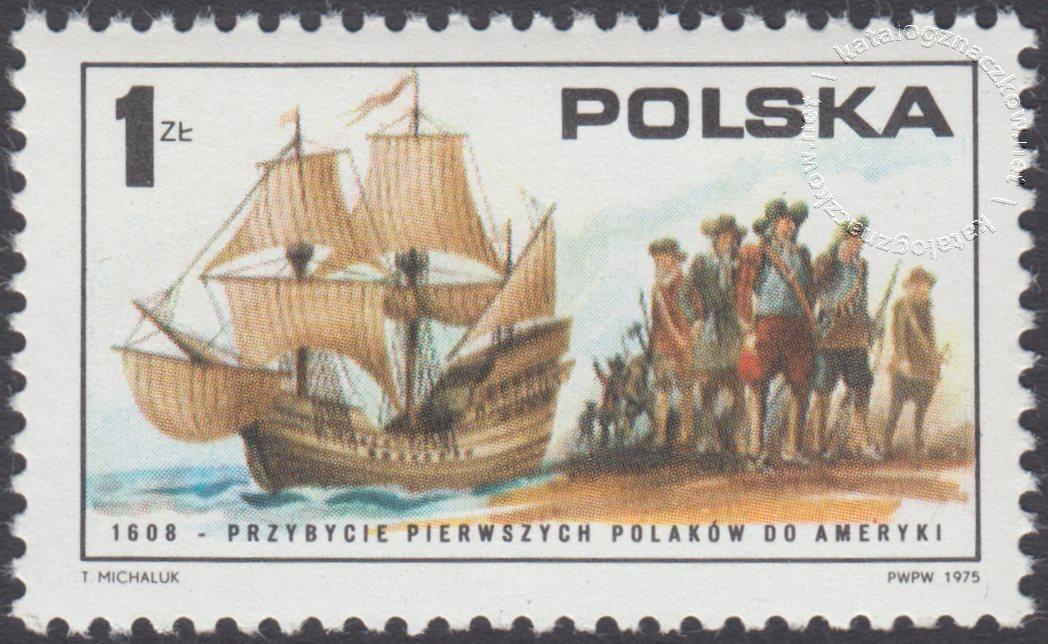 200 rocznica ogłoszenia niepodległości Stanów Zjednoczonych Ameryki znaczek nr 2253