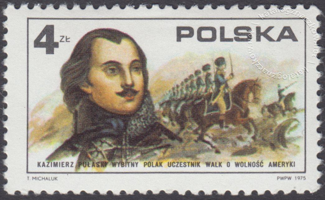 200 rocznica ogłoszenia niepodległości Stanów Zjednoczonych Ameryki znaczek nr 2256