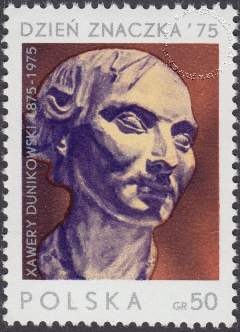 Dzień Znaczka – 100 rocznica urodzin Xawerego Dunikowskiego znaczek nr 2262