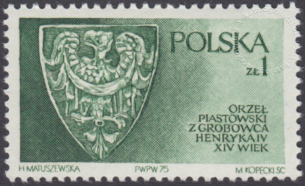 Piastowie Śląscy znaczek nr 2269