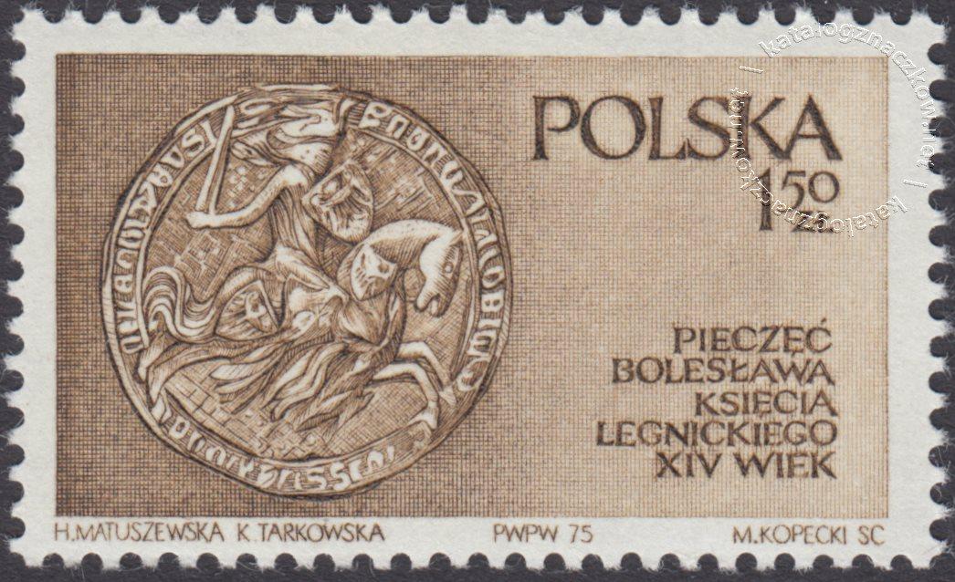 Piastowie Śląscy znaczek nr 2270