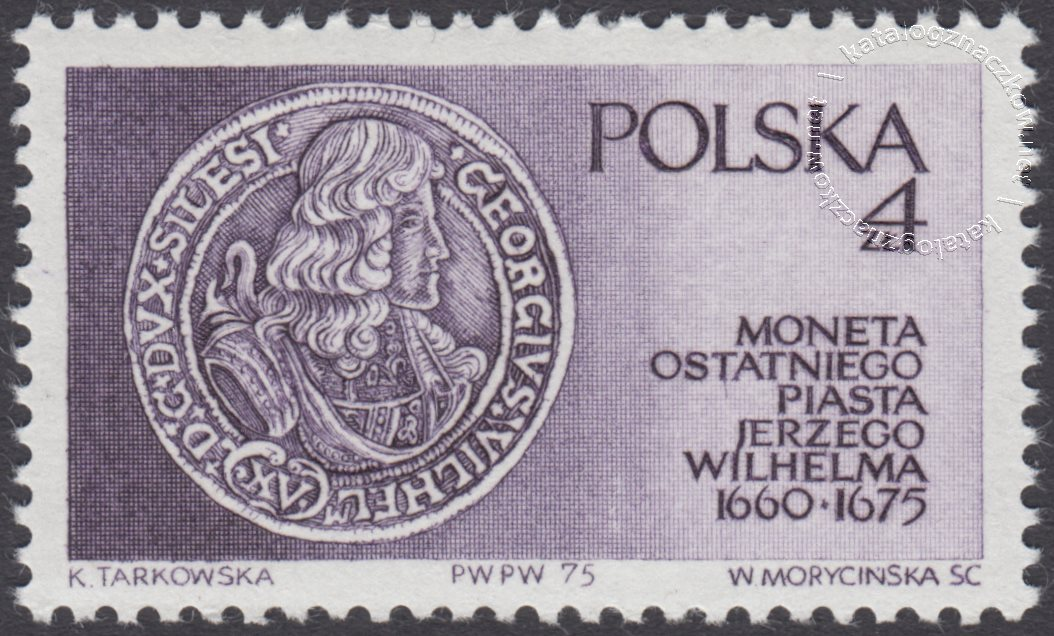 Piastowie Śląscy znaczek nr 2271