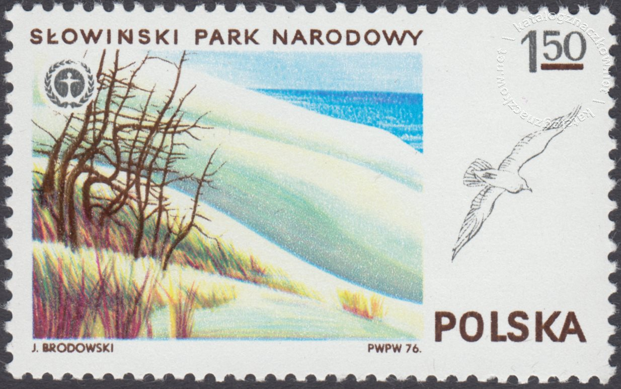 Parki Narodowe znaczek nr 2300