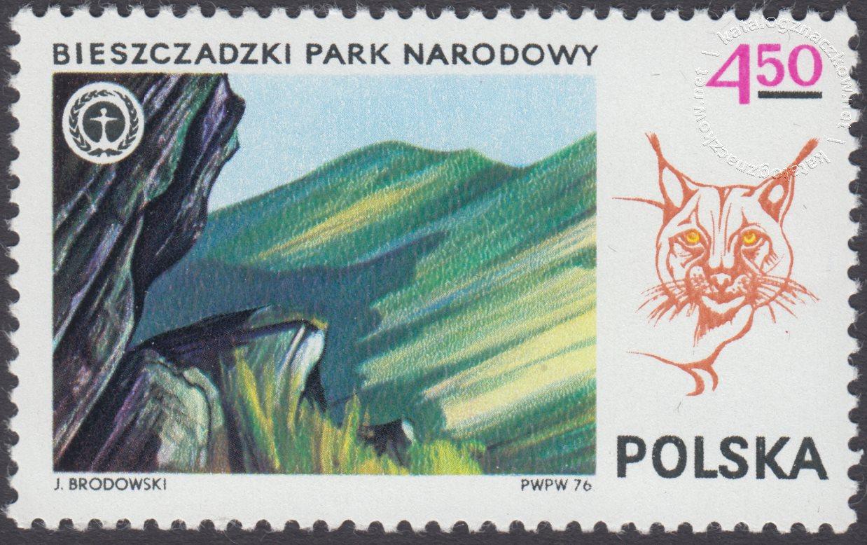 Parki Narodowe znaczek nr 2301