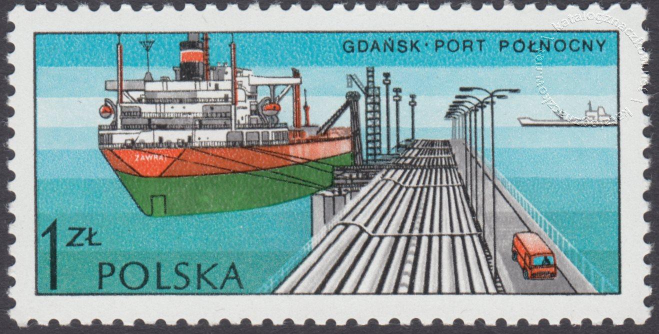 Polskie porty znaczek nr 2328