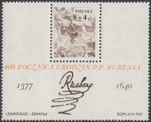 400 rocznica urodzin Petera Paula Rubensa - Blok 56