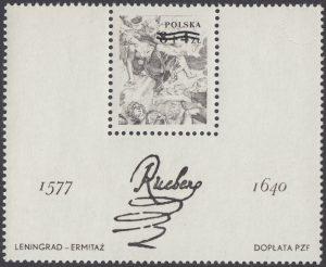400 rocznica urodzin Petera Paula Rubensa - Blok 56ND