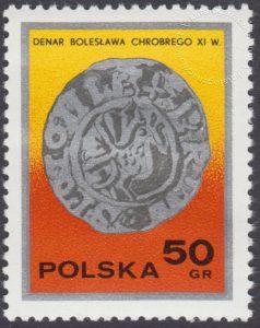 Dzień znaczka - monety polskie - 2378