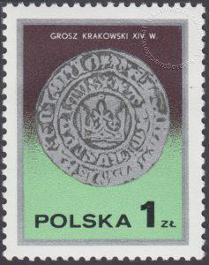 Dzień znaczka - monety polskie - 2379