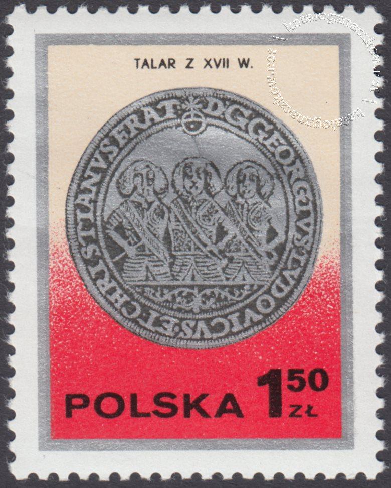 Dzień znaczka – monety polskie znaczek nr 2380
