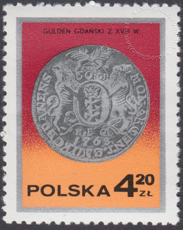 Dzień znaczka – monety polskie znaczek nr 2381