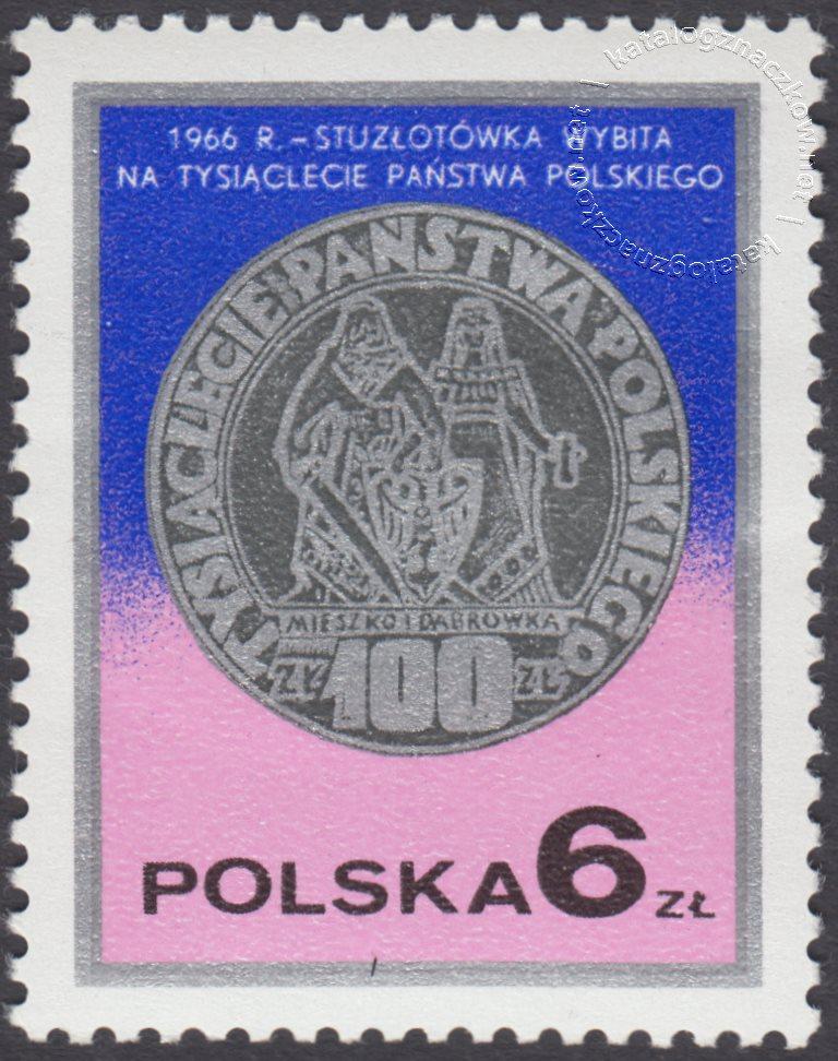 Dzień znaczka – monety polskie znaczek nr 2383