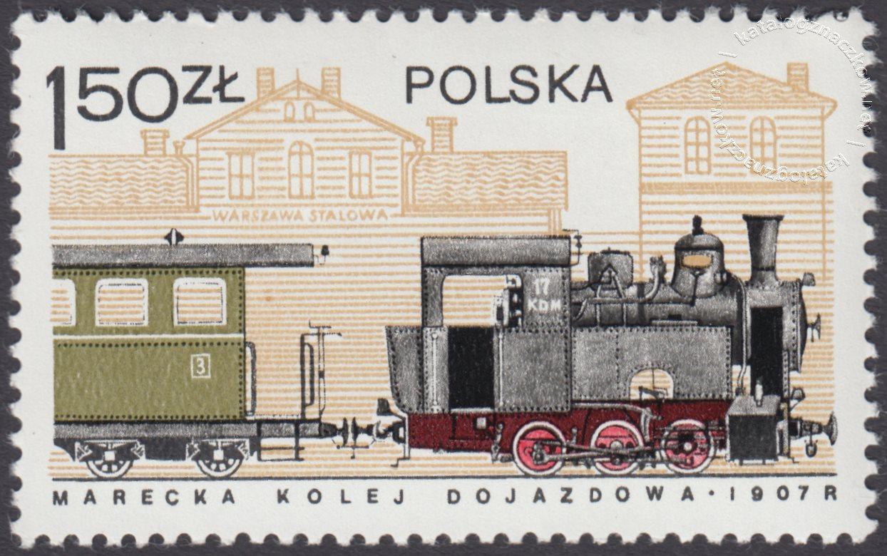 Historia kolejnictwa znaczek nr 2400