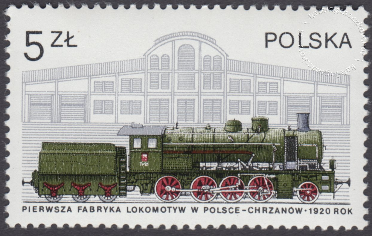 Historia kolejnictwa znaczek nr 2402