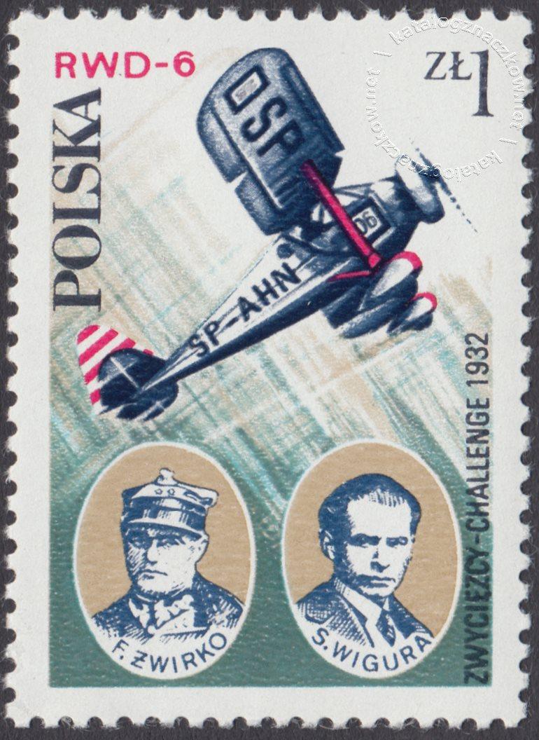 Lotnictwo polskie znaczek nr 2405