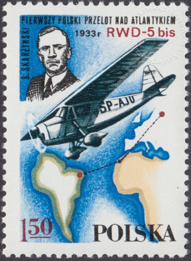 Lotnictwo polskie znaczek nr 2406