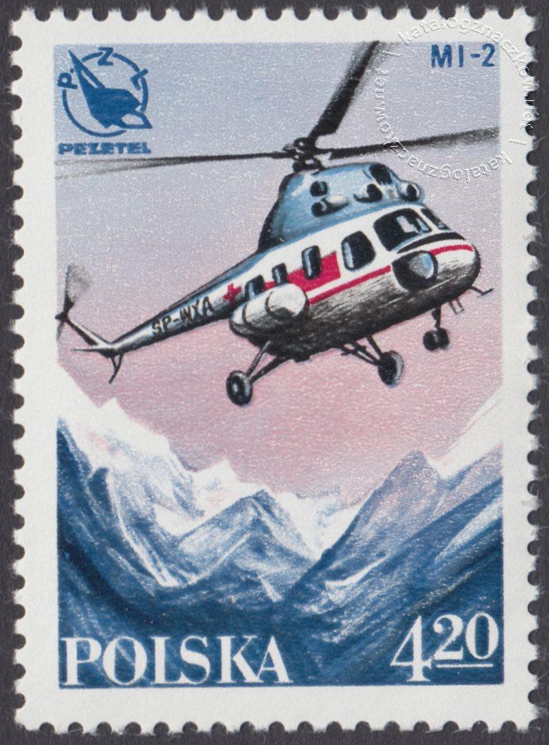 Lotnictwo polskie znaczek nr 2407