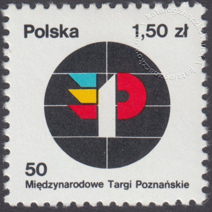 50 Międzynarodowe Targi Poznańskie znaczek nr 2415