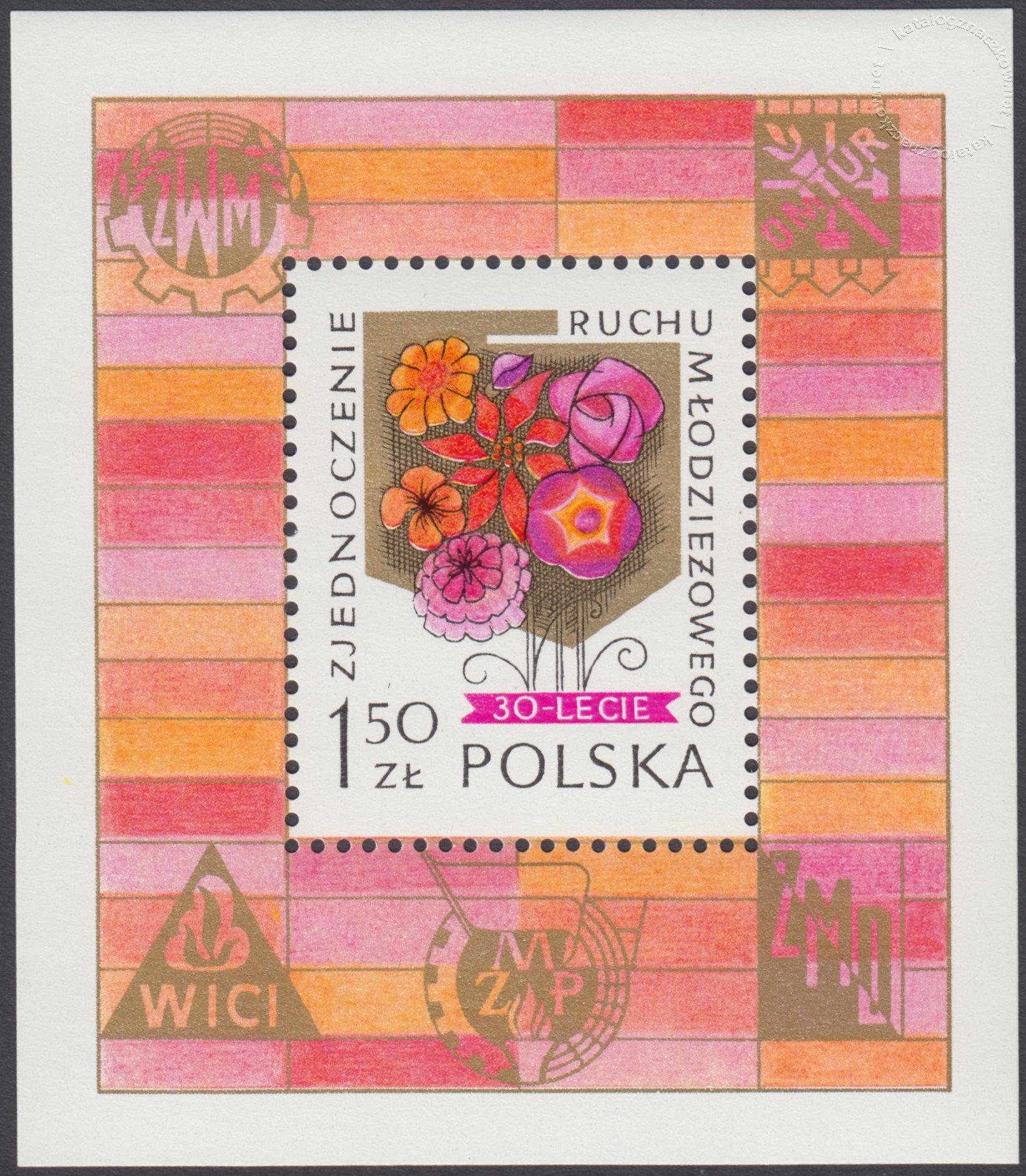30 rocznica zjednoczenia polskiego ruchu młodzieżowego – Blok 59