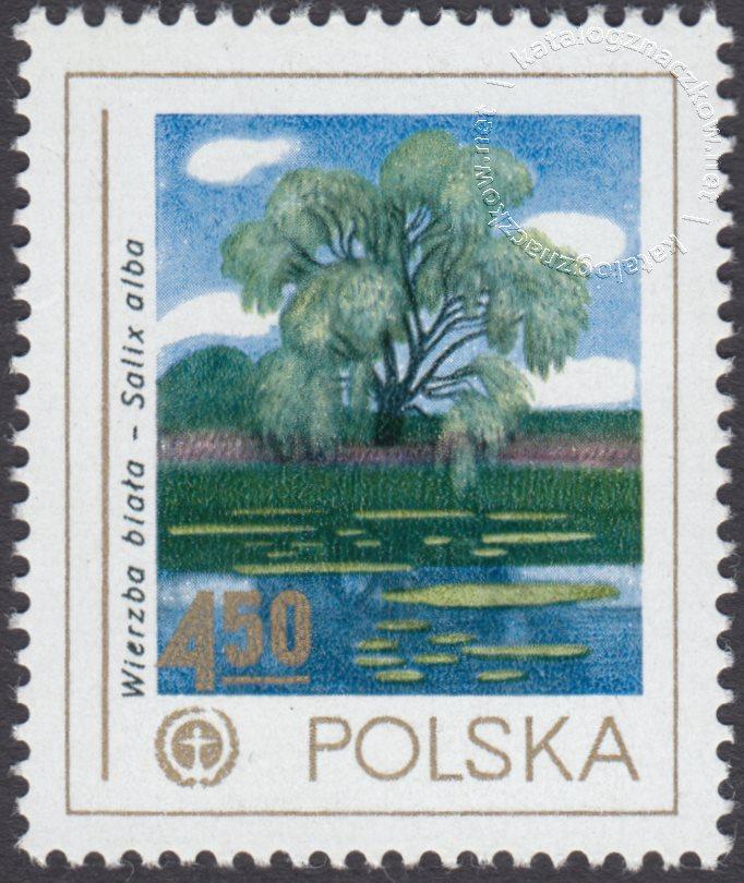 Ochrona środowiska – drzewa znaczek nr 2426
