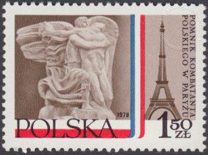 Pomnik Kombatanta Polskiego w Paryżu - 2436