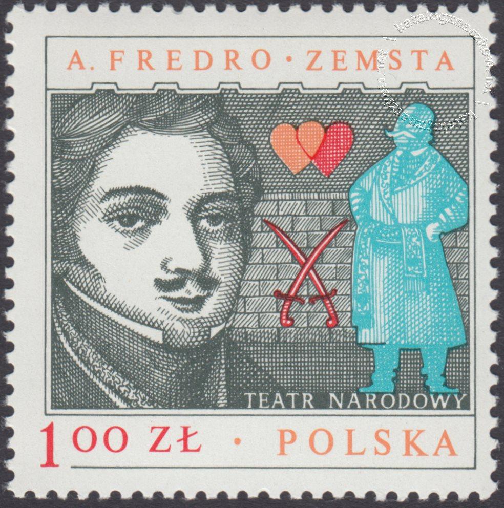 iArcydzieła dramaturgii polskiej znaczek nr 2445
